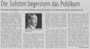 Kritik Badische Zeitung 9.10.2018